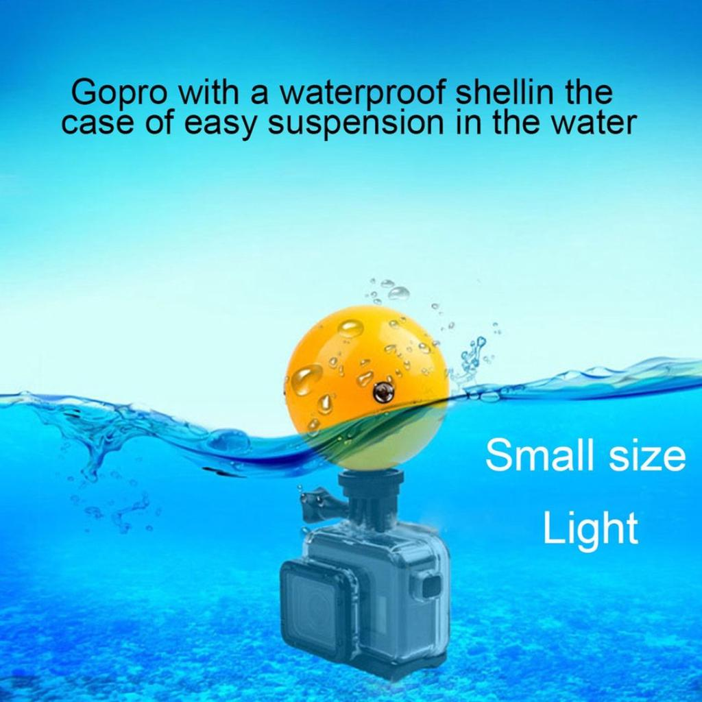 Xiaoyi #A 5pcs Diving Floaty Ball Kit For GoPro HERO6//5//5 Session//4 Session//4//3