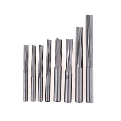 YG8 HSS 3//4//6 Flute End Mills 6mm 50mm All Sizes cutting mill