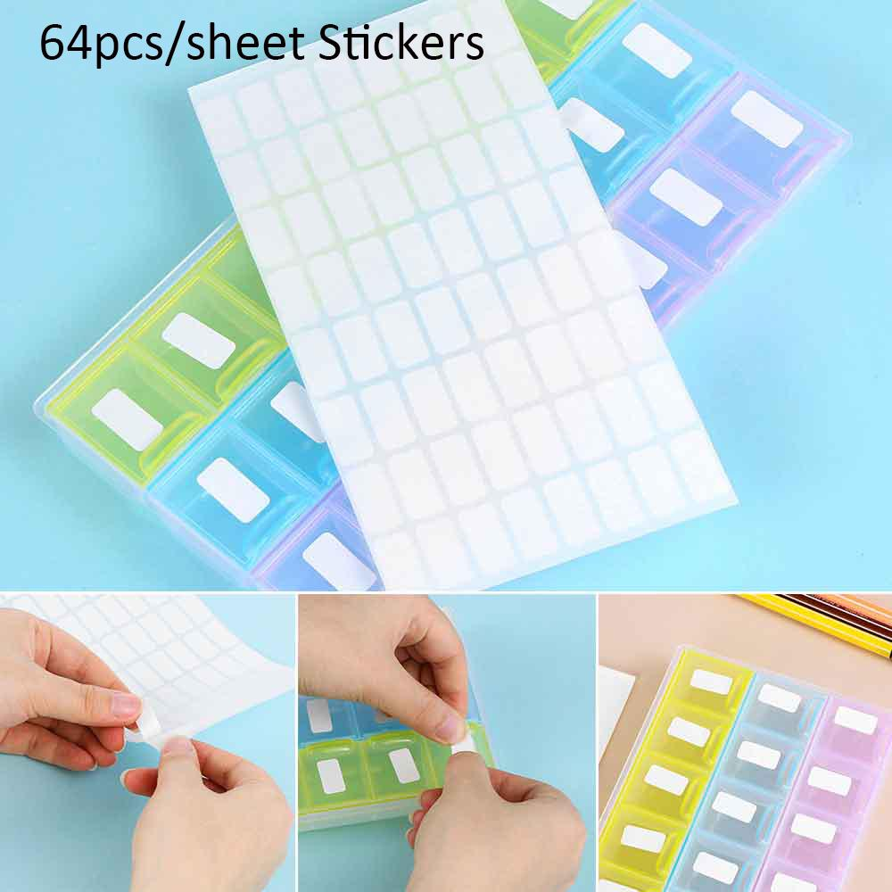Adhesive Classification Sticky Tags Distinguish Package Label Number Stickers