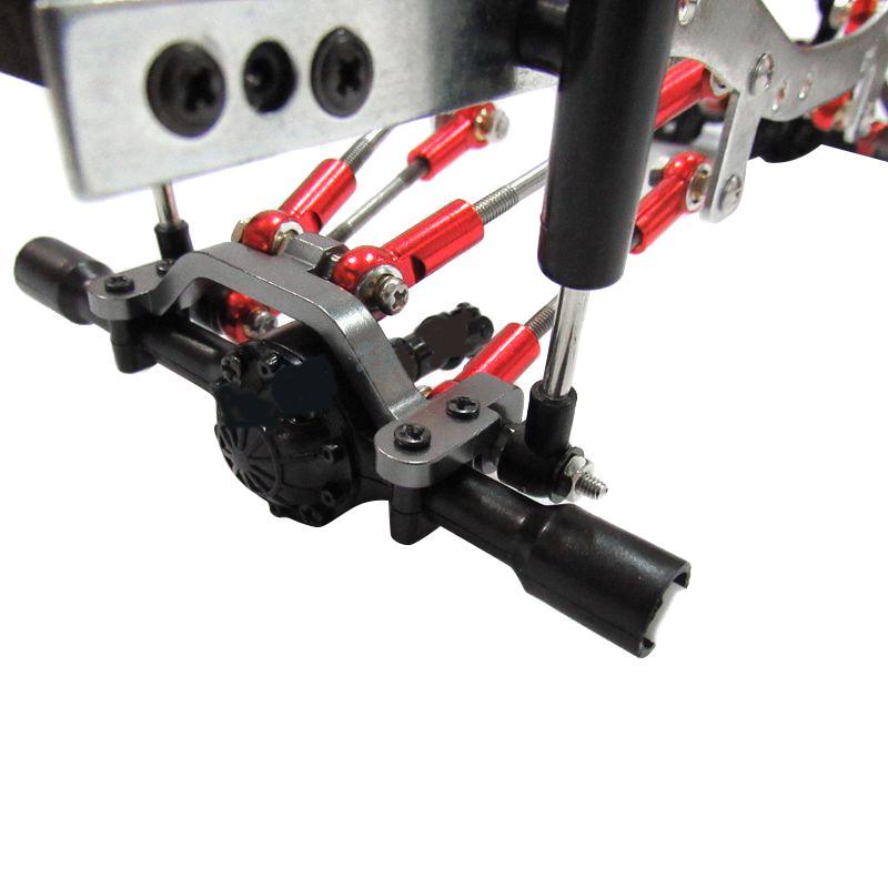 Amortecedor De Metal Conjunto De Peças De Upgrade Kit para 1:16 wpl C14 C24 C24K Carro Rc