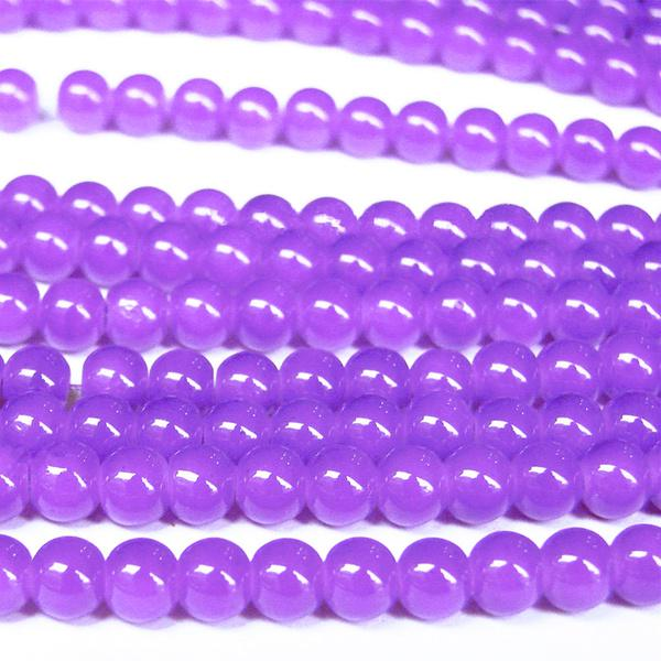 1000pcs 3x4mm Violet Multicolor Crystal Loose Bead