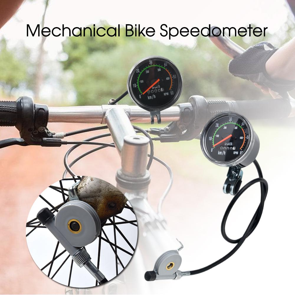 Stopwatch Bicycle Odometer Wired Code Table LCD Display Speedometer Tachometer