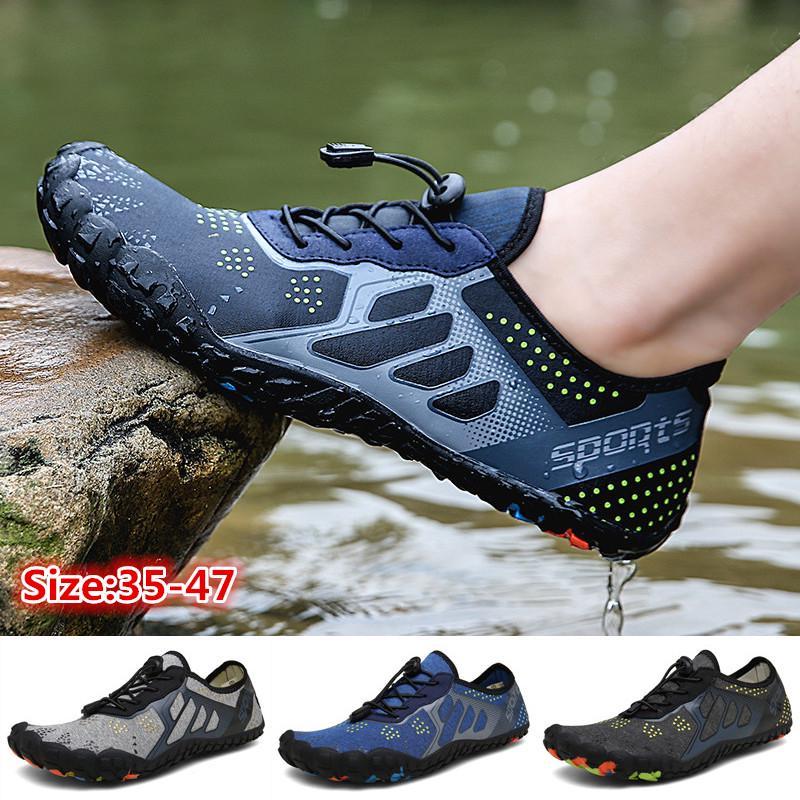zenicham Womens Men Quick Drying Aqua Water Shoes Casual Walking Shoes