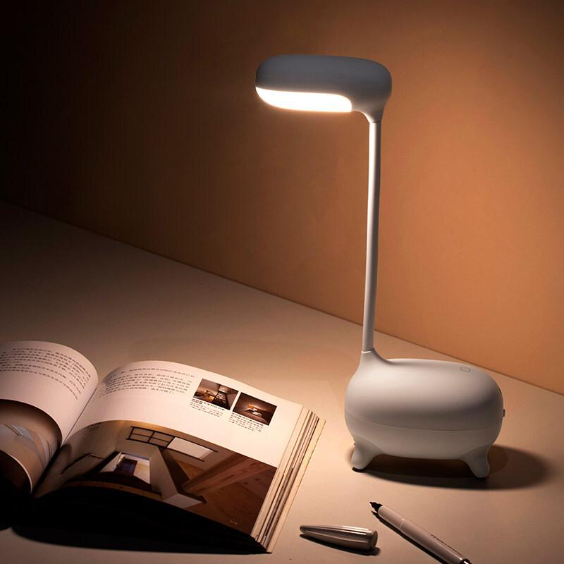 MINISO Desk lamp USB led Table Lamp 16 LED Table lamp with Clip Bed Reading