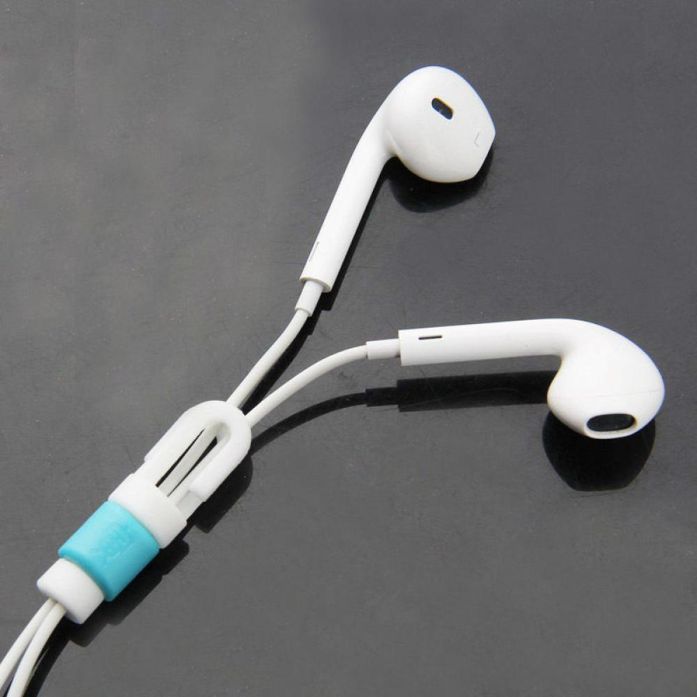 3PCS Gadget Headset Cord Protector Saver Headphone Cable Cover for ...