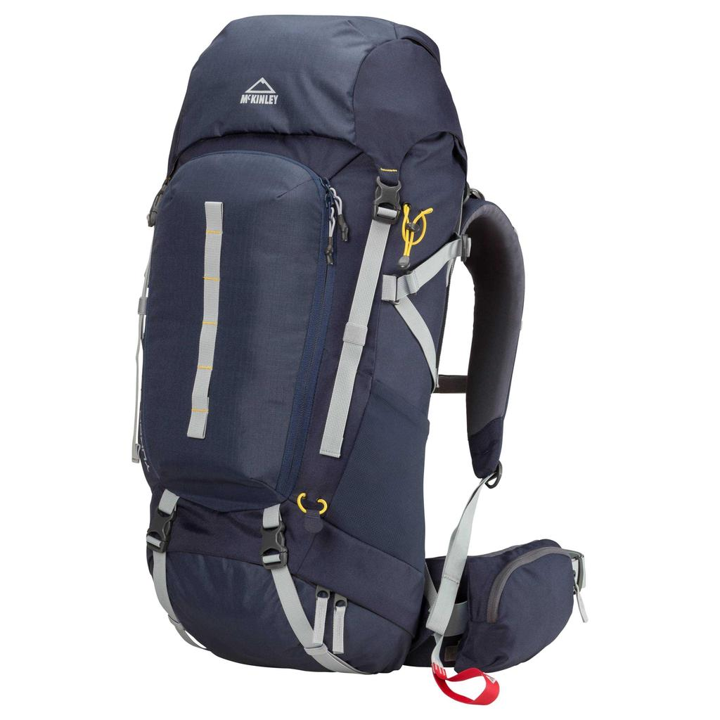 Mckinley Yukon 55 + 10 iv uni, plecak granatowy szary oliwkowy 106016001028