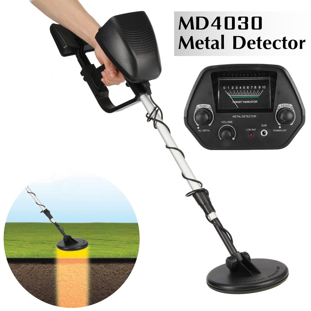 MD4030 Deep Sensitive Metal Detector Searching Gold Digger Treasure Hunter Portable and Lightweight Underground Metal Detector Metal Detector Metal Detector