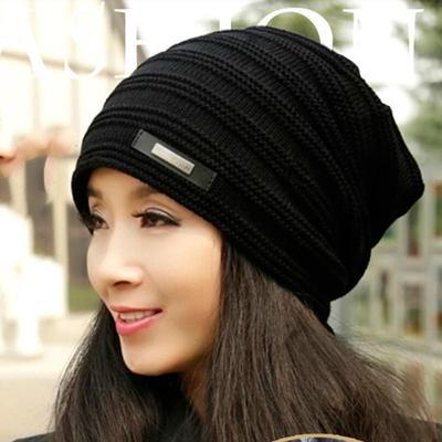 58628e25cef Beanies Knit Winter Hats Men s Winter Hat Caps Bonnet Outdoor Ski Sports Warm  Baggy Cap