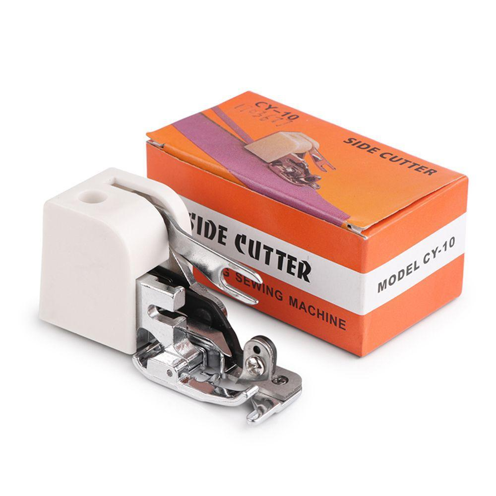 Lado corte Overlock máquina de coser prensatelas Pie pies accesorio ...