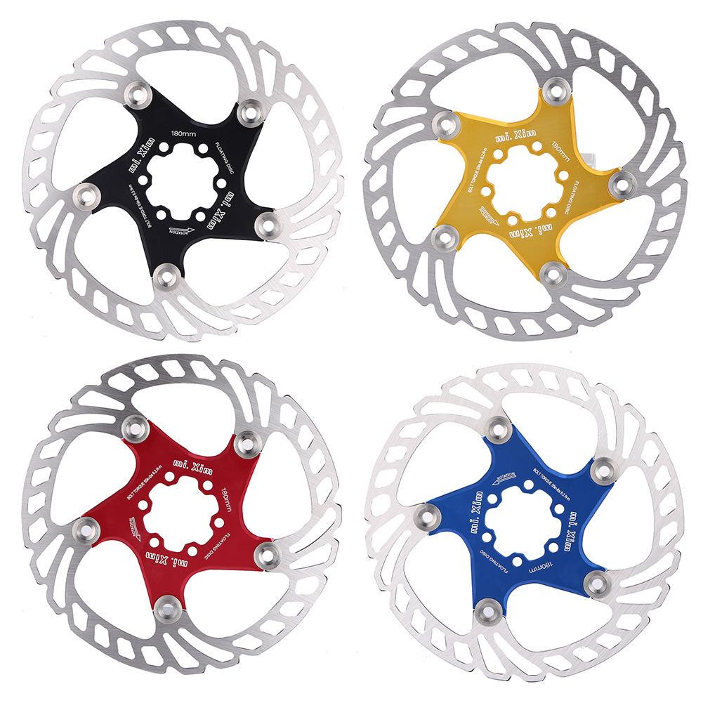 "Colorful MTB Mountain Bike Floating Disc Brake Rotor 160mm 6/"" 180mm 7/"" Rotors"