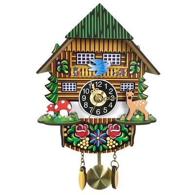 Vintage Cuckoo Wall Clock 3d Swing Battery Powered A Buy At A Low Prices On Joom E Commerce Platform