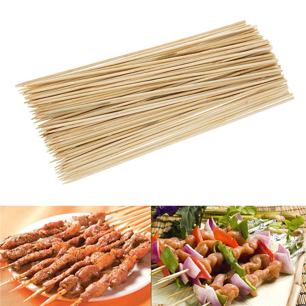 Одноразовые бамбуковые шампуры. 55 шт фото
