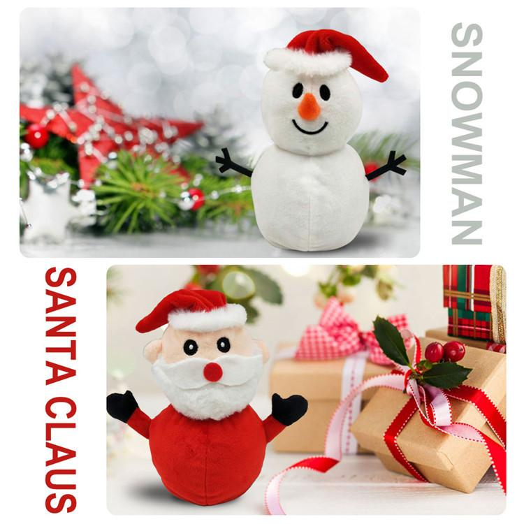 Christmas Ty 2021 Products 2021 Popular New Products Reversible Santa Claus Plush Toy Father Christmas Stuffedtoy For Gift Buy From 9 On Joom E Commerce Platform