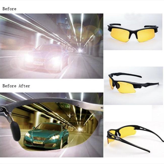 HD Ночное видение Вождения очки поляризованные Вождение Солнцезащитные очки Мужчины Анти-блики Водитель очки фото