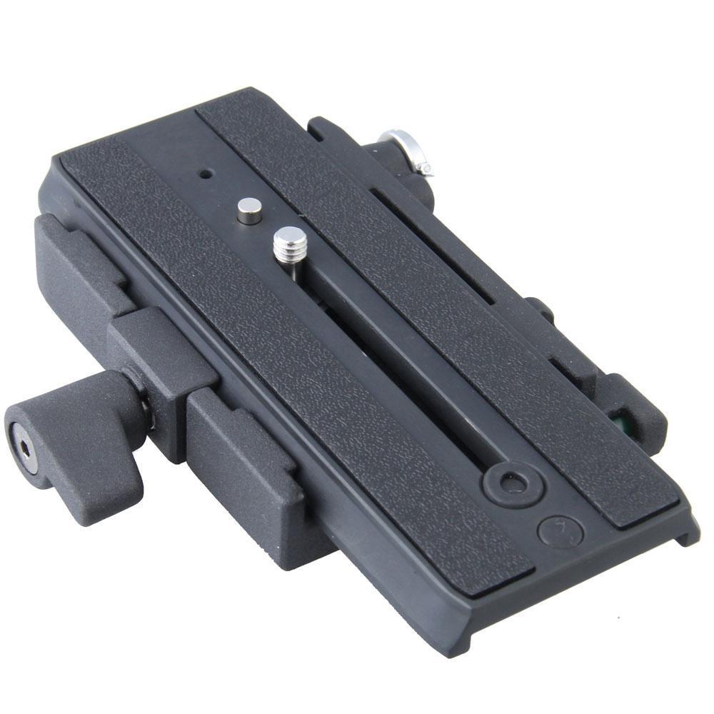 Quick Release Plate for Manfrotto 501 500AH 701HDV 503HDV 7M1W 577 Camera Tripod Monopod P200 QR Aluminium Alloy Clamp Adapter