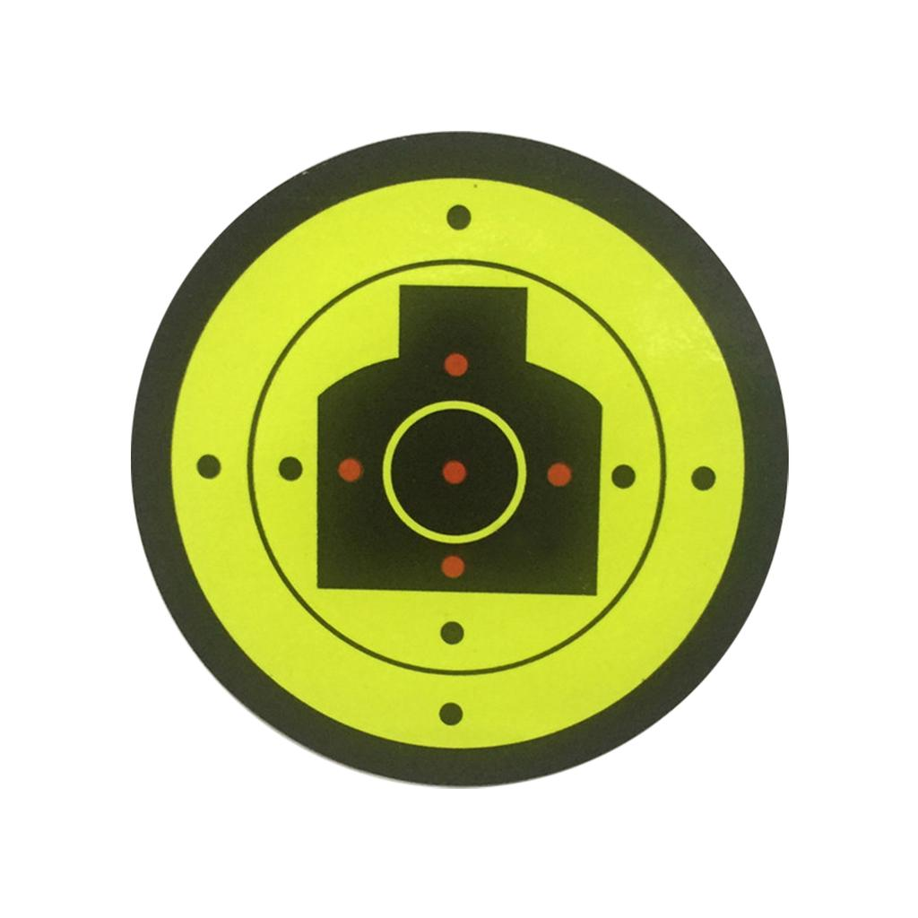 Target Shooting Stickers Splatter Accessories Diameter 7.5cm High Quality