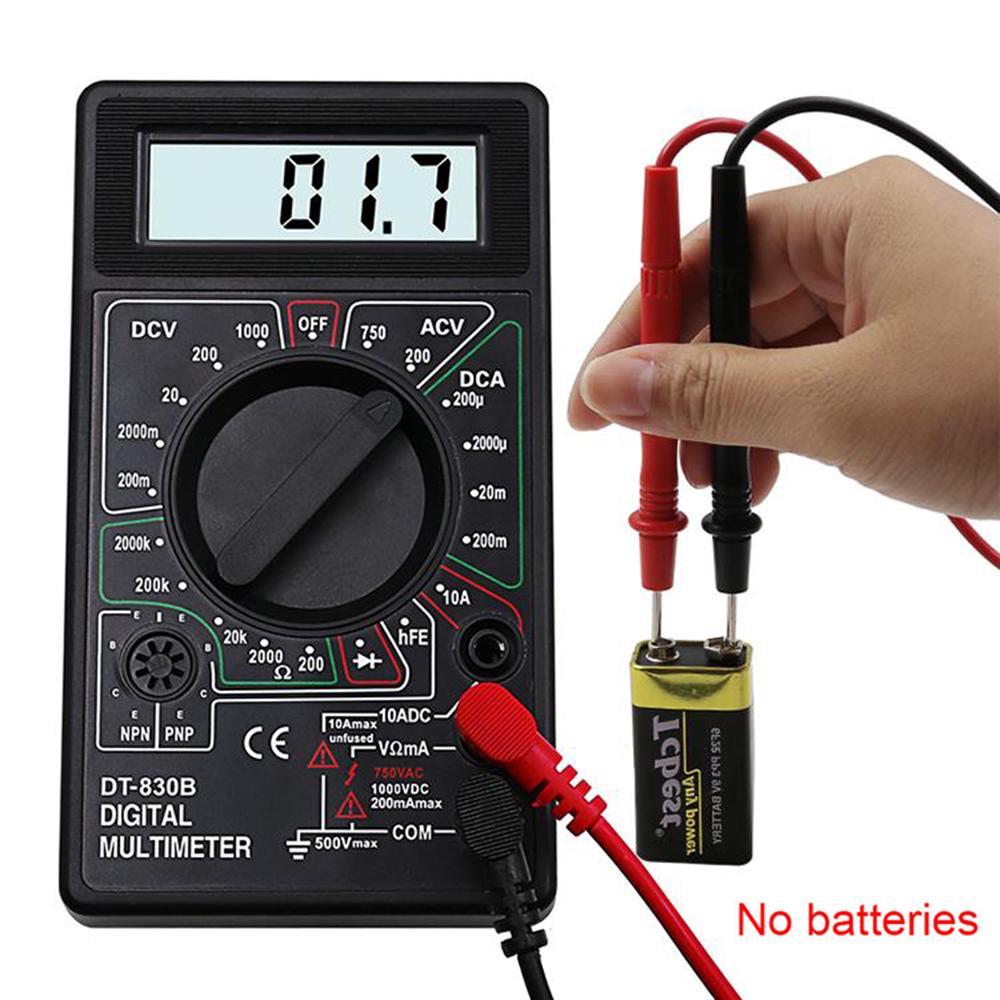 1 Pc Pocket MF-110a Ohmmeter Voltmeter Analog Multimeter Tester Instrument Black