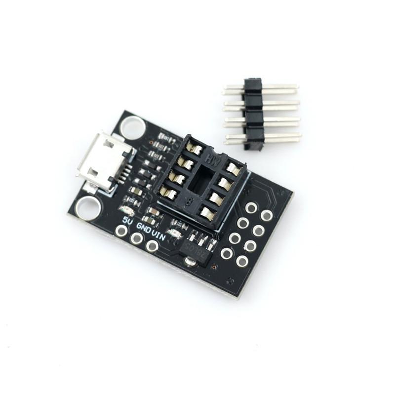 Mini ATTINY85 Micro USB Development Board for Tiny85-20PU DIP-8 IC  ST