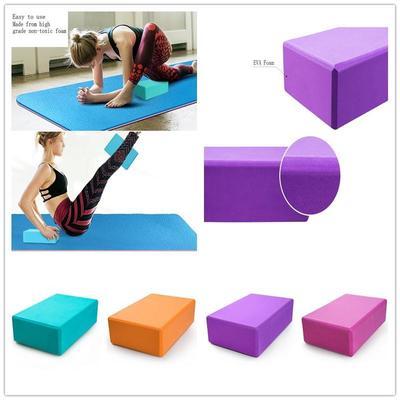 Fitness Mad Yoga Block Pilates Training Brick Balance Blocks Fitness Foam Block