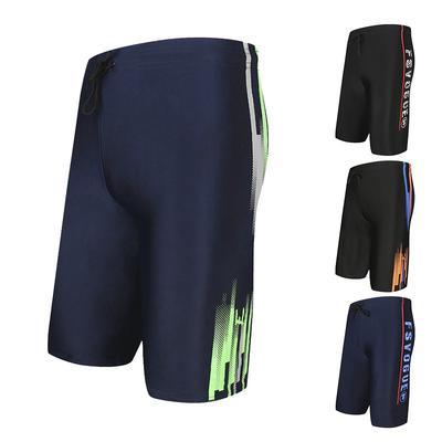 71862a23e8764 Hombres natación troncos delgado suelta Boxer Shorts playa traje de ...