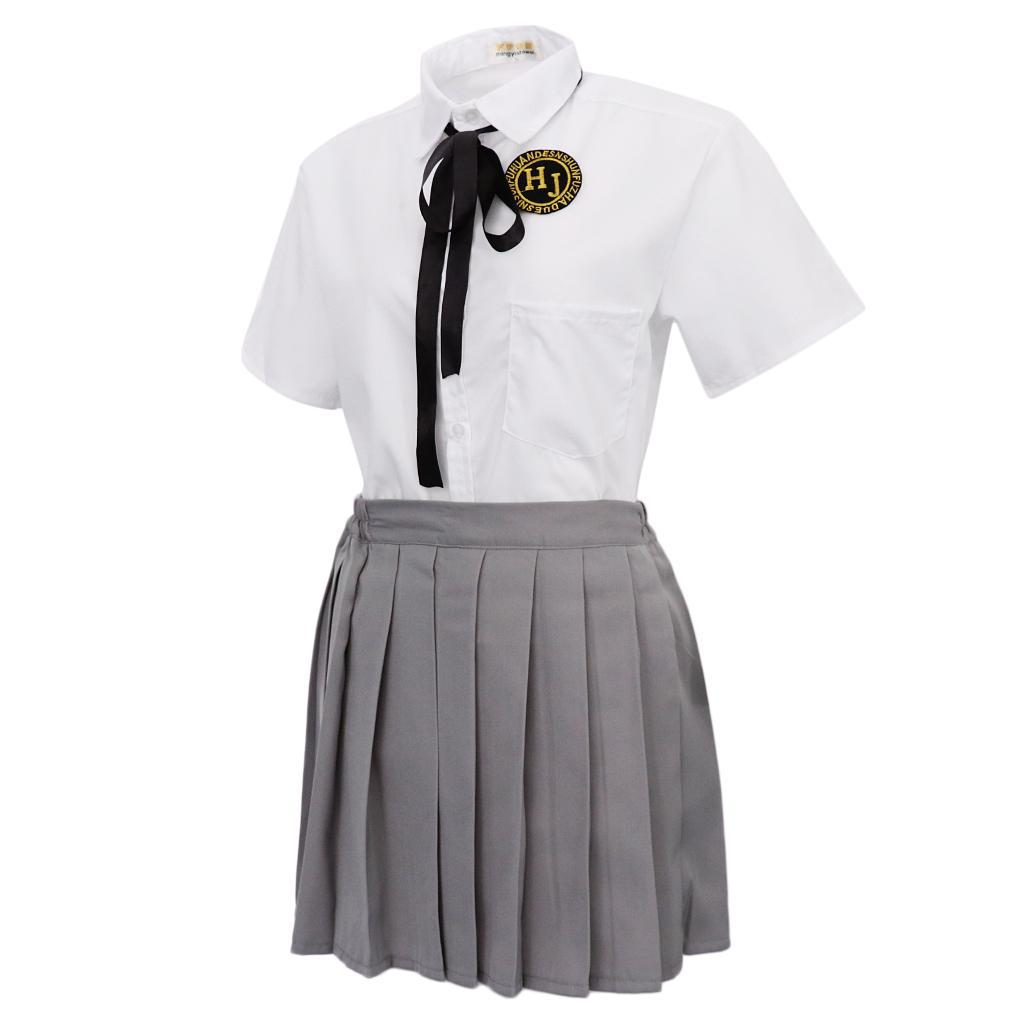 Sailor //japanese School Girl Costume Size Small LG19 uk6