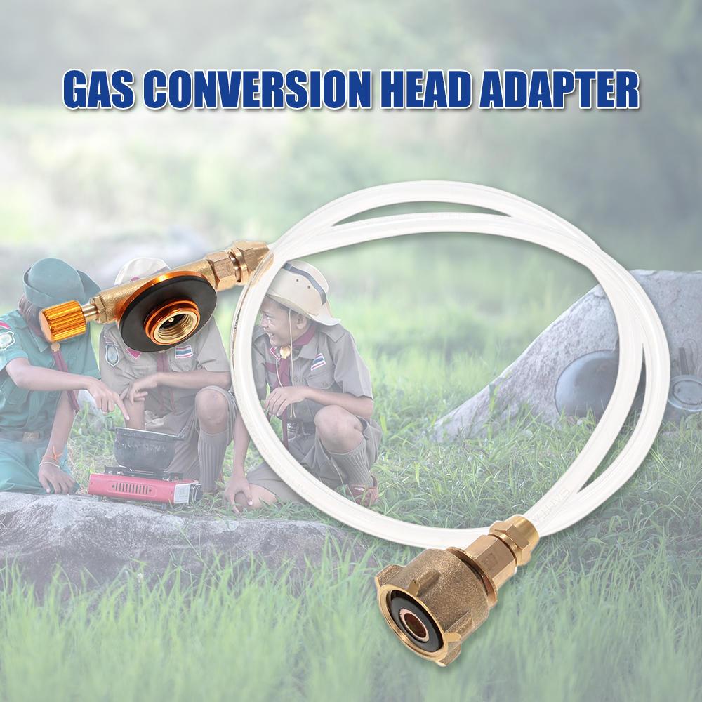 WINOMO R/échaud de camping Connecteur gaz bouteille transfert adaptatrices