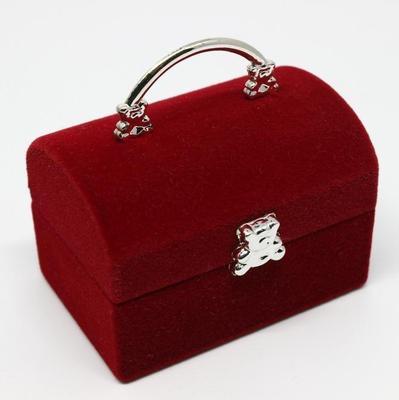 d515c68cbe24 Основной дизайн сумочку форма украшения кольцо дисплей случае кольцо  ожерелье хранения шкатулки