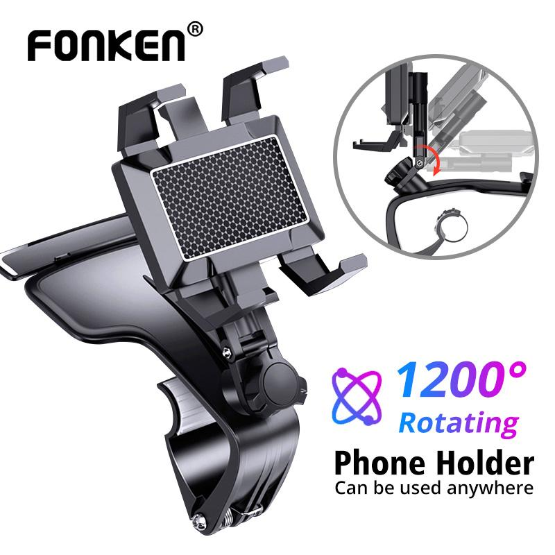 Fonken Upgraded 1200 Rotation Car Dashboard Multi Function Bracket Universal Mobile Phone Stand In Car Rotatable Cell Phone Navigation Holder Buy From 8 On Joom E Commerce Platform