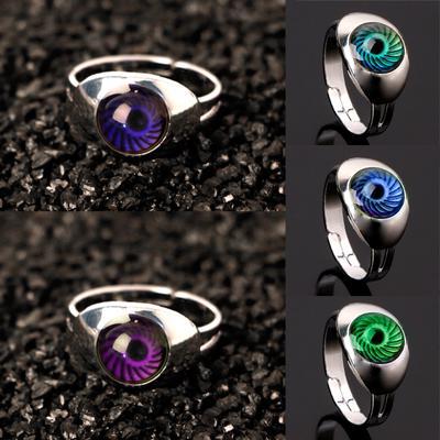 Mujeres ojo mágico forma cambio estado de ánimo emoción sensación  temperatura anillos de Color 1deba309a0b