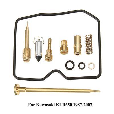 Carburetor Carbs Repair Kit Replace For Kawasaki KLR650 XU-07350 1987-2007