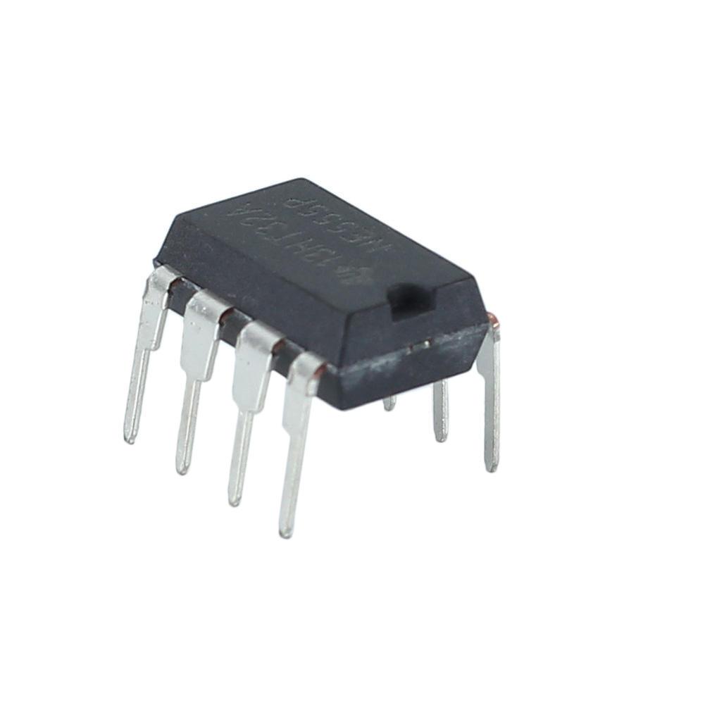 40 Pcs Black NE555P 555 DIP-8 IC Timer Timers Chip Through Hole Mounting Chic J