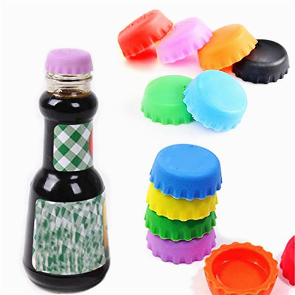 Silicone Red Wine Beer Bottle Cap Cover Champagne Beverage Stopper Stop Cork