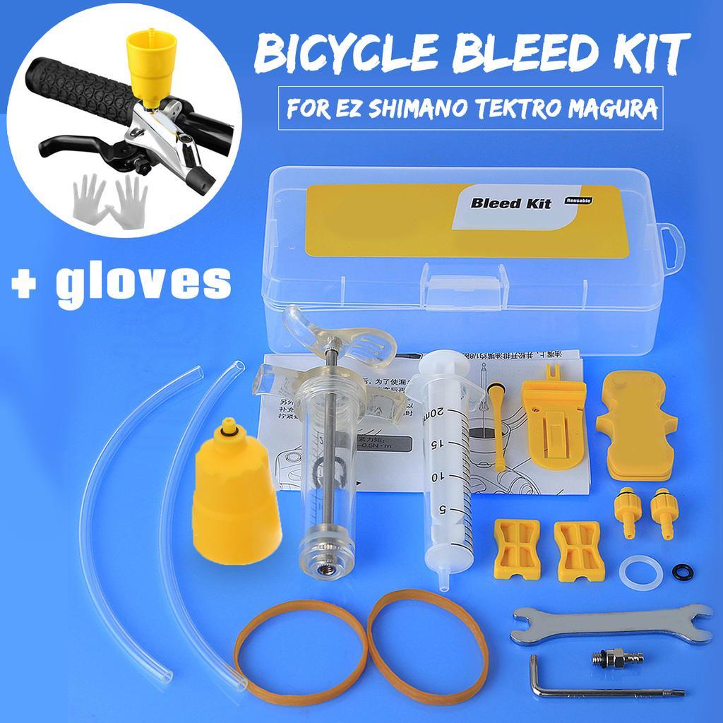 Bike Bicycle Hydraulic Disc Oil Brake Bleed Tool For EZ Tektro Magura