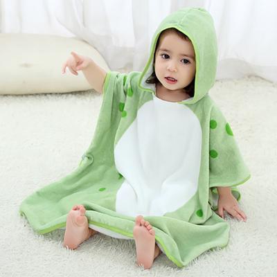 e61b17e228b1 Baby Boys Girls Kids Bathrobe Cartoon Animals Hooded Bath Towel ...