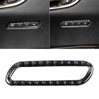 Auto Carbon Faser Auto Scheinwerfer Art Hauptlichtschalter Knopf Rahmen Ordnung f/ür X1 2016-2019