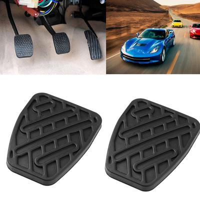 BRAKE AND CLUTCH REPLACEMENT PEDAL COVER PAD PAIR RUBBERS for RENAULT CARS