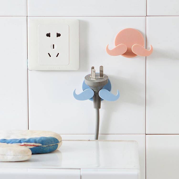 Kreative Haken aufklebbare Bart Rasierer Rack Küche Rasierer Storage ...