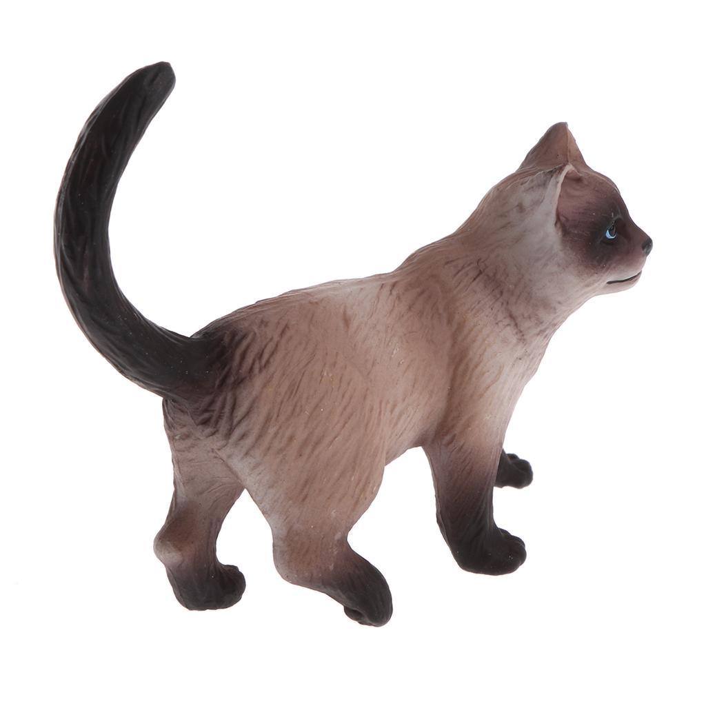 Реалистичные модели на животных статуэтка фигурки что Playset дети Игрушка Кот стоя – купить по низким ценам в интернет-магазине Joom