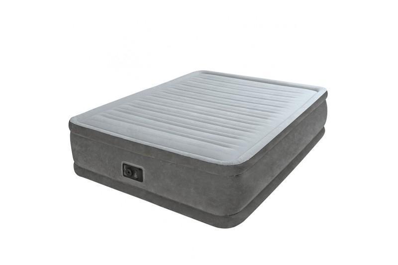 Air Intex 64414 air mattress Grey,Silver 64414 1530 mm 46 cm Grey,Silver Polyester 2030 mm