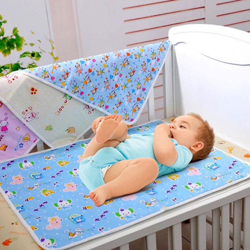 宝宝隔尿垫 防水尿布垫婴儿透气可洗尿垫多尺寸隔尿垫便携式尿垫