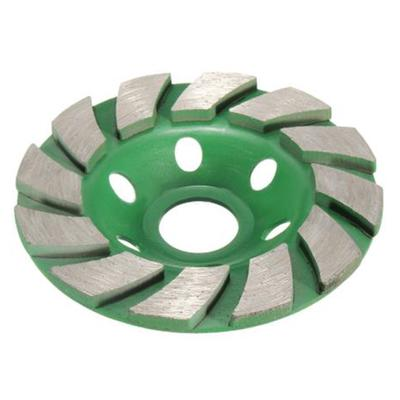 8 Pieces X 4 Inch 100mm Diamond Double Row Grind Cup Wheel concrete sader disc