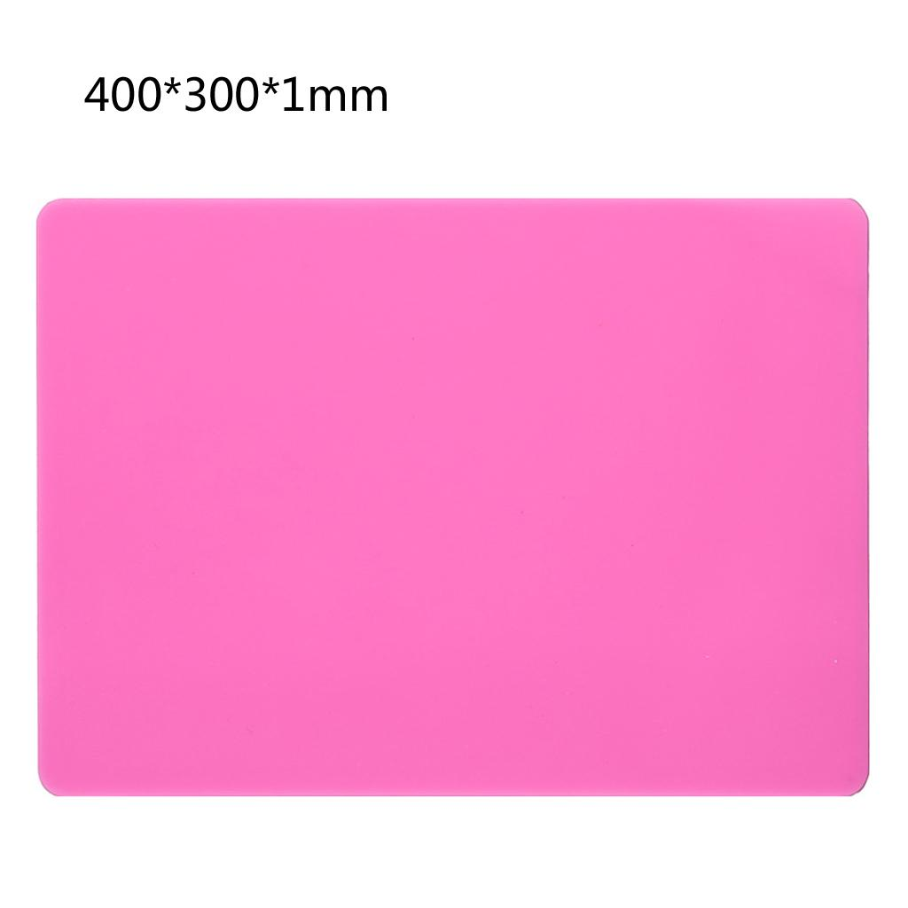 DIY Silicone Resin Mat Pad Craft Tool High Temperature Resistance Sticky Plate