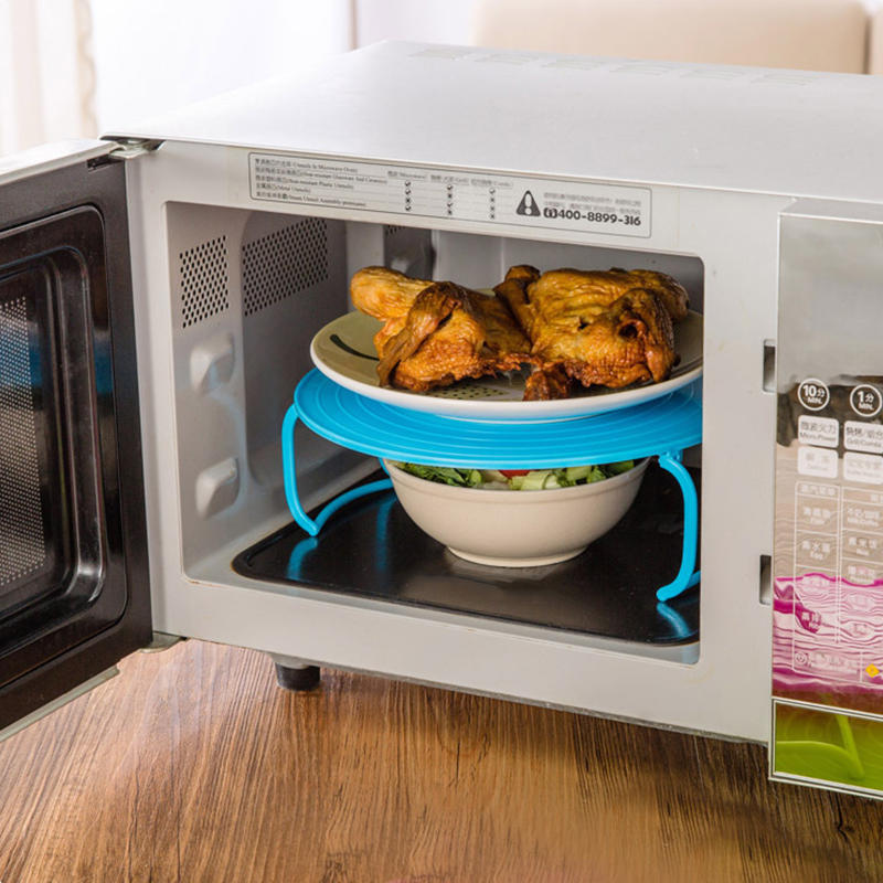 microwave heating A microwave oven (commonly called a microwave) is a machine that cooks food using microwaves, a type of radio wave if you are not sure of the heating time.