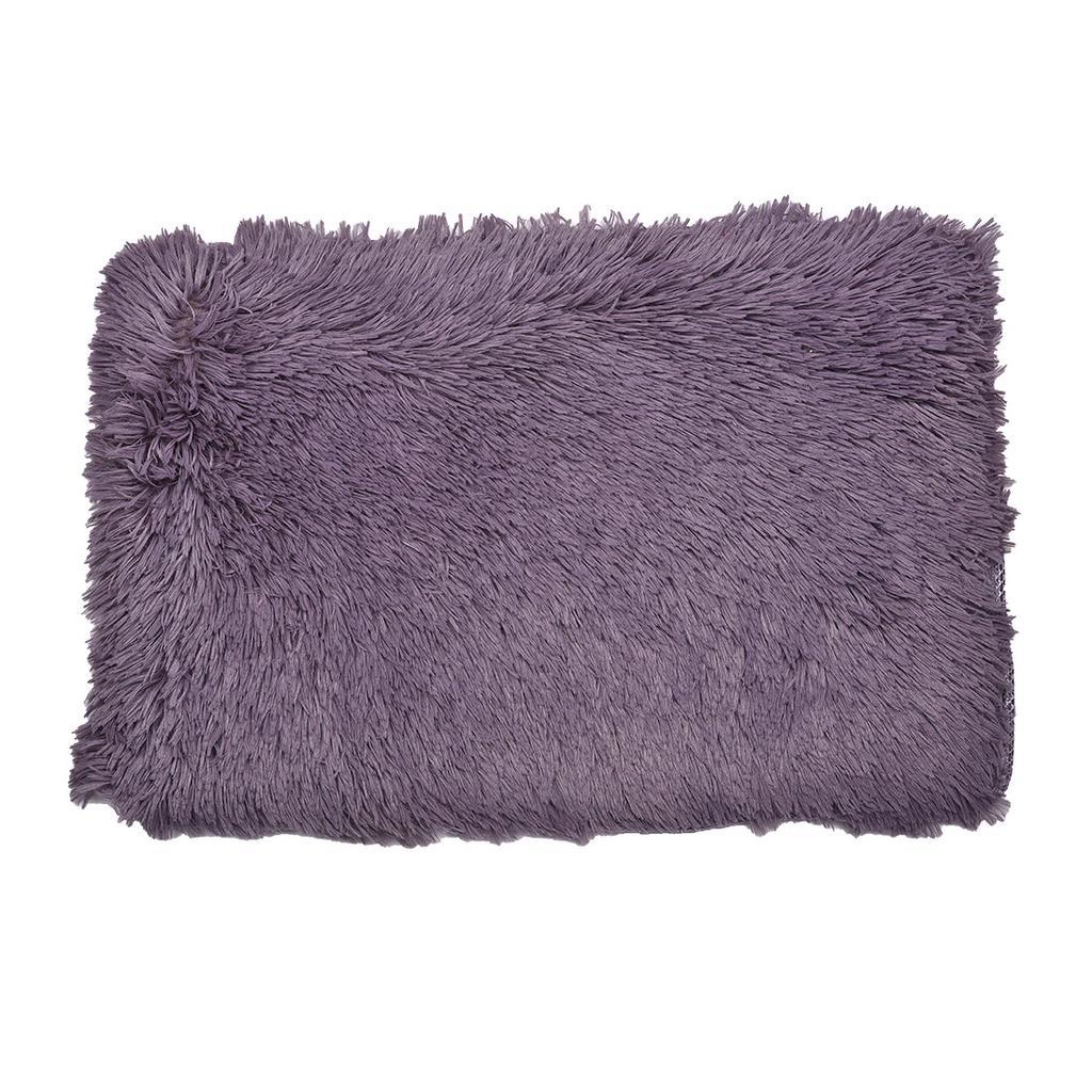 40 * 60cm moderno Color puro Terciopelo alfombra Rectangular suelo ...