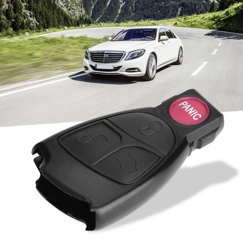 Etiqueta engomada decorativa de la fibra de carbono del marco del ajuste del CD del coche de 2 PCS for el Mercedes Benz W204