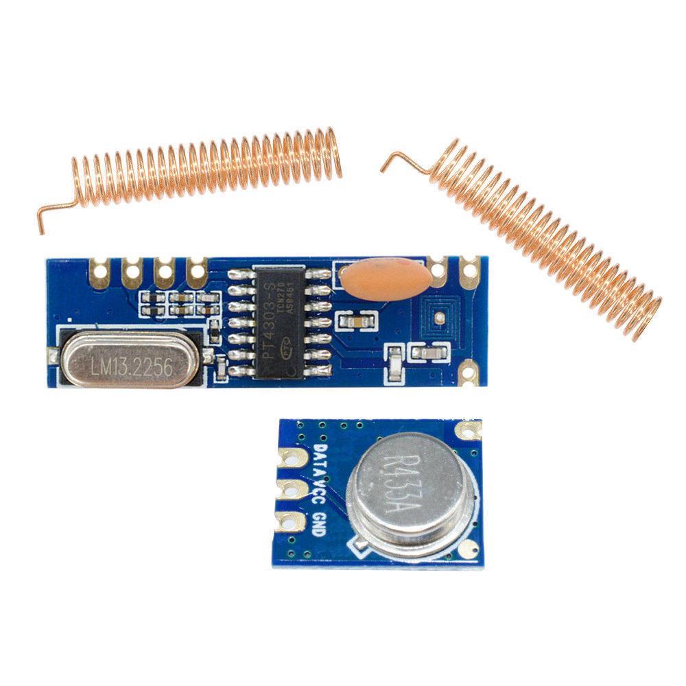 433MHz 100 Meters ASK Module Kit RF STX882 Transmitter/&SRX882 Receiver Antenna