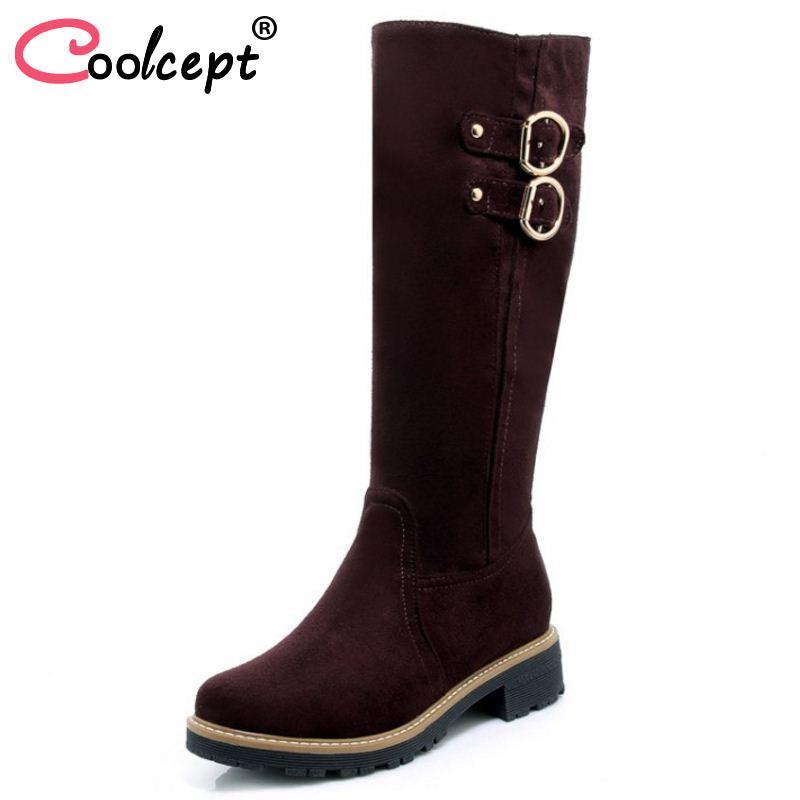 Розмір 33-43 гойдалки платформи взуття жінок кремезний каблуки ... dfce9a5fb9df6