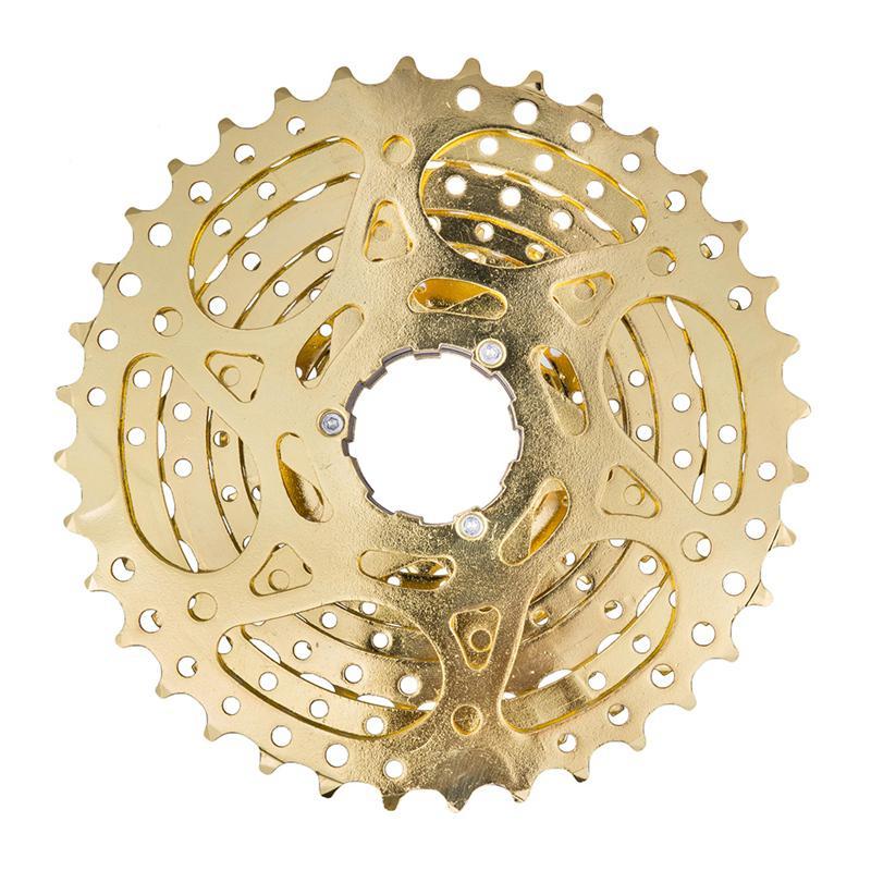 ZTTO 9 Speed MTB Bike Steel Freewheel Cassette Bicycle Golden Flywheel 11-36T