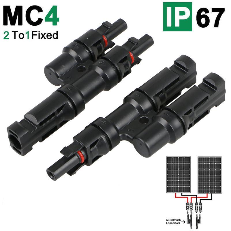 Solar Panel 2//3//4//5//6T Branch Connectors Cable Splitter Coupler Combiner For MC4