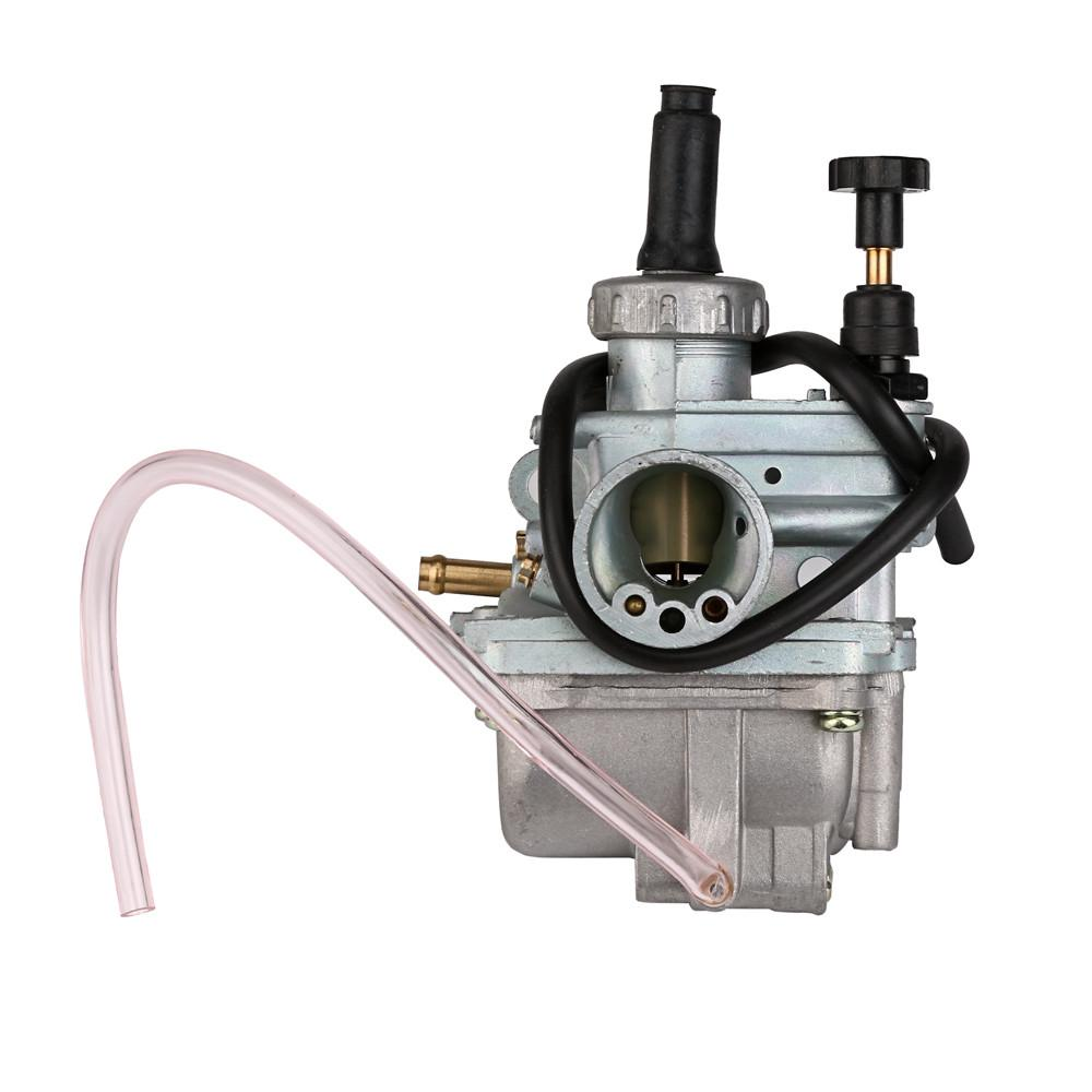 New Carburetor Carb for Suzuki LT80 LT 80 1987-2006 Quadsport ATV with Fuel Gas Petcock Tank Valve Switch Pump